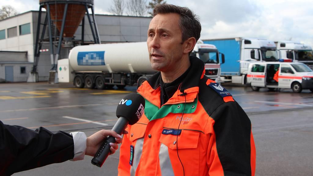 Markus Alpiger, Gruppenchef Schwerverkehr Kapo SG