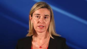 Die EU-Aussenbeauftragte Federica Mogherini hat an der Geberkonferenz für die Zentralafrikanische Republik weitreichende Unterstützung in Aussicht gestellt. (Archivbild)