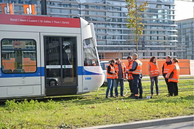 Der Unfall ereignete sich auf der Thurgauerstrasse beim Glattalpark.