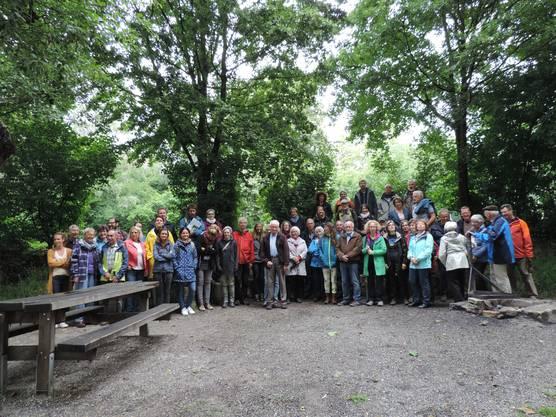 Natur findet Stadt - Gartenbesichtigungen beim Guggibach fand regen Anklang