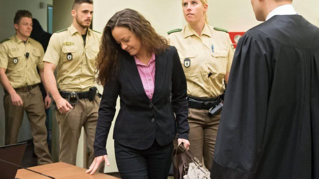 Sie will ihr Schweigen brechen: Die mutmassliche Rechtsterroristin Beate Zschäpe will im NSU-Prozess in München eine Aussage machen. (Archiv)