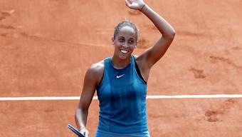 Premiere für Madison Keys in Paris: Erstmals steht sie an der Porte d'Auteil im Viertelfinal