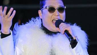 Der südkoreanische Musiker Psy ist weiter auf Erfolgskurs