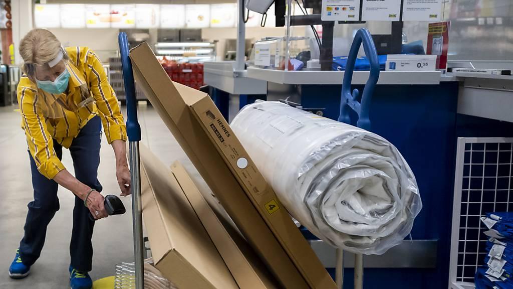 Ikea Schweiz hofft trotz Krise auf stabilen Umsatz