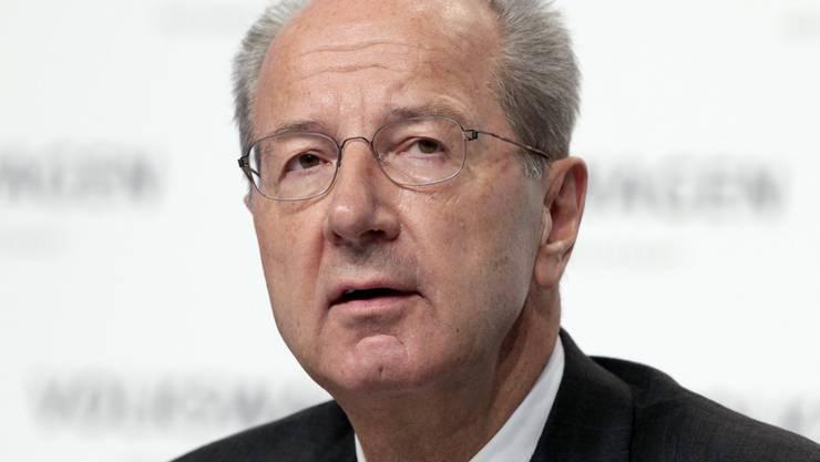 Der Aufsichtsratsvorsitzende von VW, Hans Dieter Pötsch, will die internen Kontrollmechanismen verbessern.