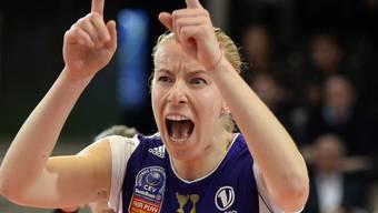 Voleros Bulgarin Dobriana Rabadzhieva (24) gehört zu den besten Angreiferinnen im Frauen-Volleyball