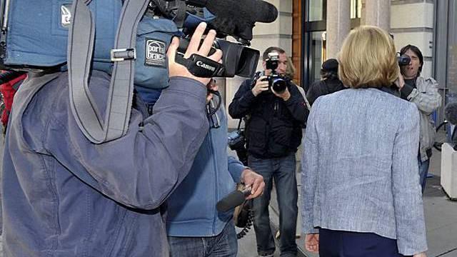 Grosses Medieninteresse an Stern-Prozess
