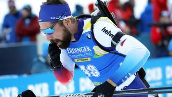 Benjamin Weger erreichte nach einem Fehler im Liegendanschlag den 11. Rang