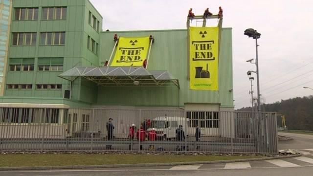 100'000 Busse für Greenpeace wegen Beznau-Aktion