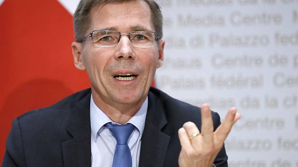 Seit Anfang Jahr im Amt: ETH-Präsident Joël Mesot. (Archivbild)