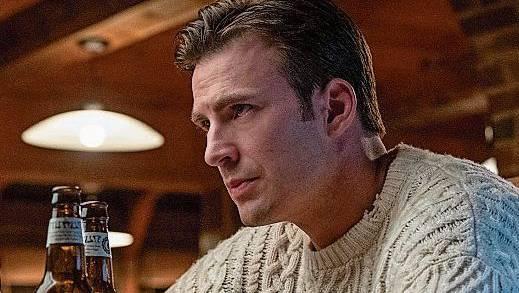 Das ist mal ein Pulli: Schauspieler Chris Evans in einem «Cable Knit»-Modell im Film «Knives Out».