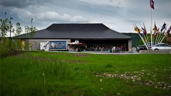 Die Stadthalle Laufenburg wurde im Mai eröffnet, nun kommt die Gebührenordnung vors Volk. Annika Bütschi