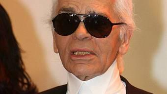 Modezar Karl Lagerfeld liebt seinen Beruf