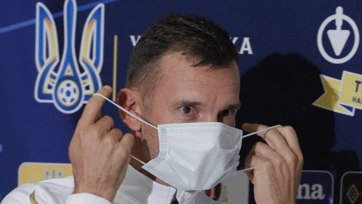 Die Ukrainer sind sicher: Nationalcoach Andrej Schewtschenko hätte in Luzern 13 negativ getestete Spieler zur Verfügung gehabt