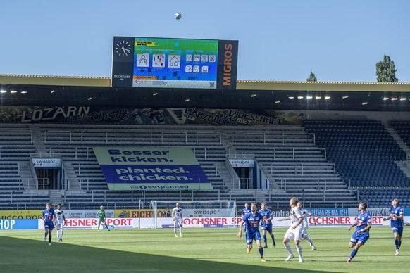 Super League vor leeren Rängen: Vor allem die Sportbranche trifft die Obergrenze von 1000 Personen pro Veranstaltung hart.