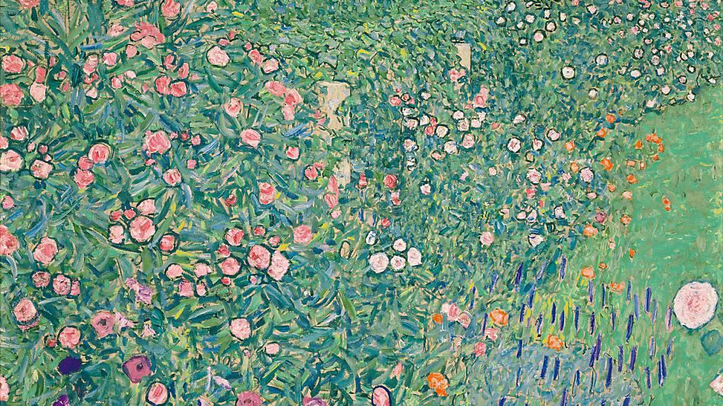Das Bild «Italienische Gartenlandschaft» von Gustav Klimt steht im Mittelpunkt einer neuen Ausstellung im Historischen und Völkerkundemuseum in St. Gallen.