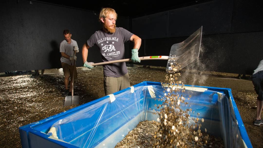 Stapferhaus Lenzburg: Die vier Millionen Fünfräppler werden wieder eingesammelt