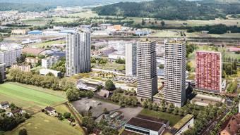 Das Gebiet, auf dem das Projekt Neumatt entstehen soll, muss in eine Wohn- und Einkaufszone überführt werden.