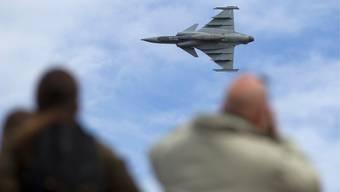 Der Gripen-Kampfjet fand 2014 keine Mehrheit an der Urne.