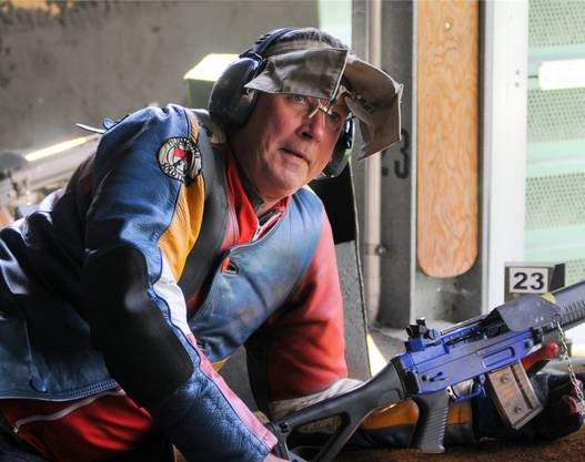 Manche Schützen sind, wie hier in Zuchwil, mit allen technischen Finessen ausgerüstet.