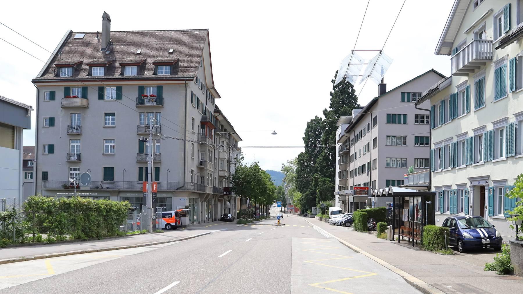 Unfall St.Jakob-Strasse