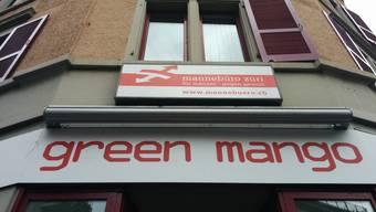 Das mannebüro in Zürich an der Ecke Lang-/Hohlstrasse.