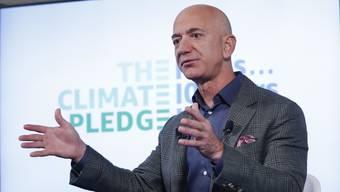 Einer der Hauptgewinner: Amazon-Chef Jeff Bezos.
