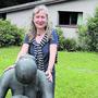 Ute W. Gottschall, hier ein halbes Jahr nach ihrem Stellenantritt im Skulpturengarten, verlässt das Rehmann-Museum.