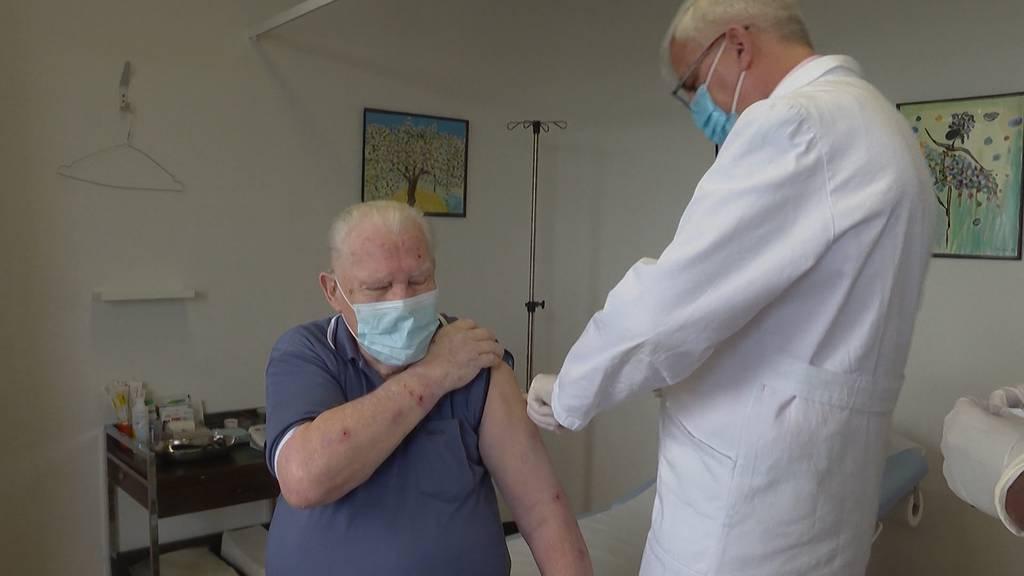 Impfstart für die Hausärzte