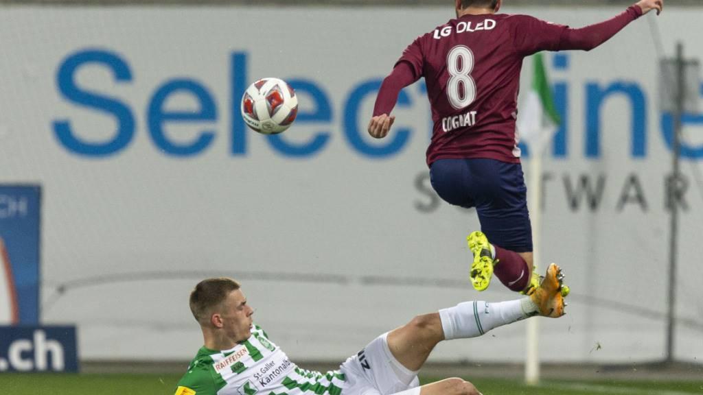 FC St. Gallen weiter im Auf und Ab