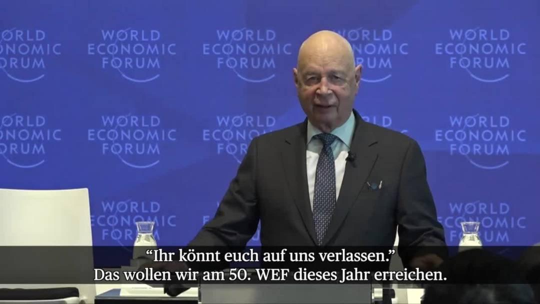 WEF 2020: Klaus Schwab will auf mehr Nachhaltigkeit setzen