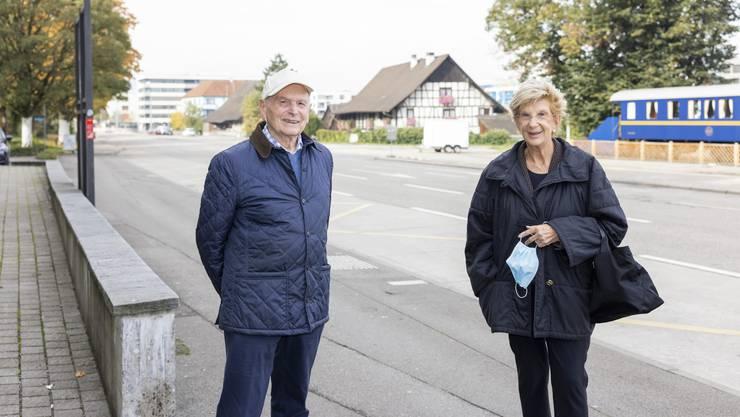 Walter Sommerhalder und Ursula Bähr wandten sich mit einem Brief an die Stadt.