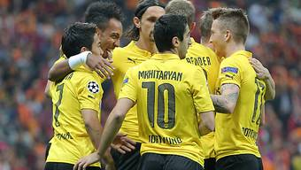 Borussia Dortmund feiert im dritten Spiel den dritten Sieg