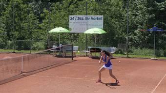 Isabella Bellotti gehört zu jenen Spielerinnen, die dem TC Weihermatt erhalten geblieben sind. (Archivbild)