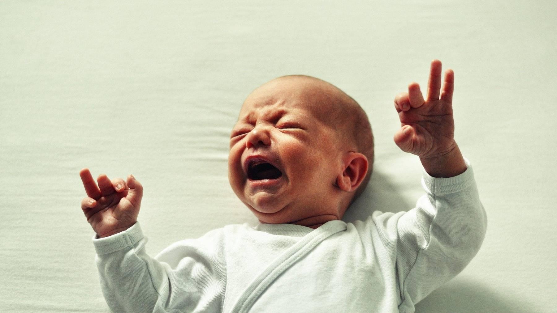 20 Prozent der Babys weinen übermässig viel.