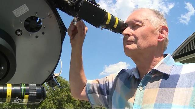 «Besonders sehenswert»: Aarauer Hobby-Astronom in Mondfinsternis-Vorfreude
