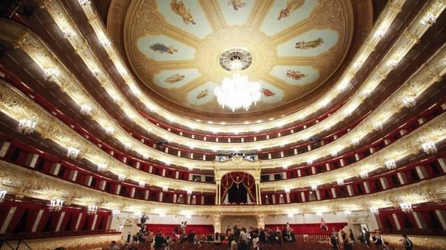Das Bolschoi Theater erstrahlt wieder in neuem Glanz (Archiv)