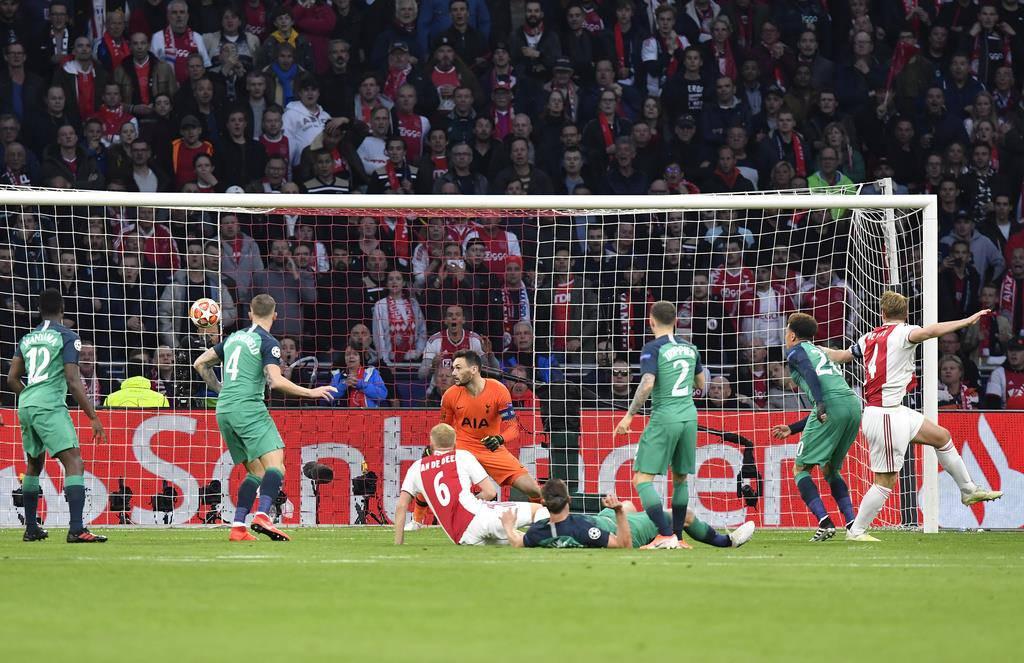 Tottenham gewinnt gegen Ajax (© Keystone)