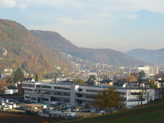 Auch Liestal, unsere Nachbarn, die geniessen auch den Herbst.