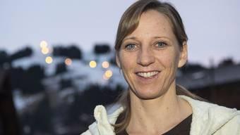 Marlies Oester - heute offiziell Marlies Rohrer - fühlt sich wohl als Mutter und verfolgt den Skisport trotzdem intensiv.
