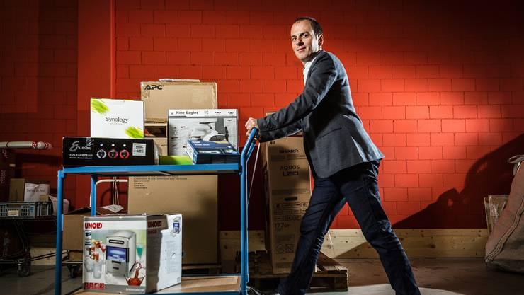Eine Million Pakete verschickt sein Unternehmen jedes Jahr: Roland Brack.