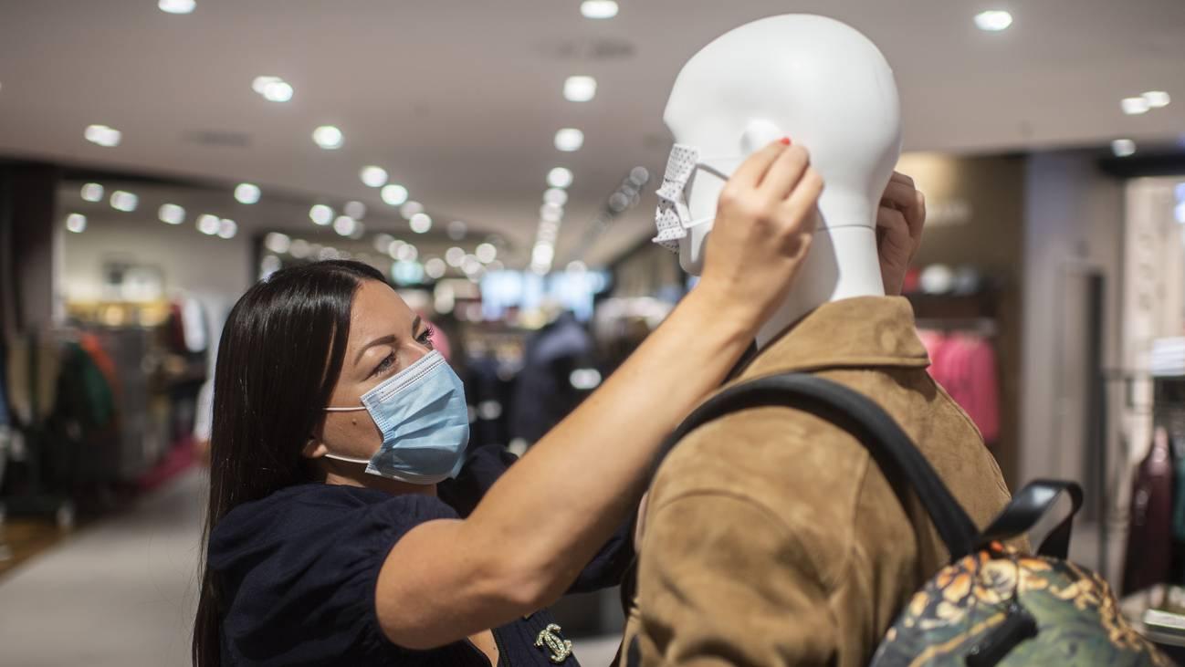 Maske Geschäft Laden