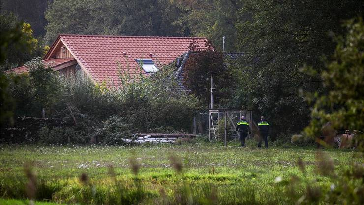 Hier lebte die Familie völlig isoliert. Bild: Keystone (Ruinerwold, 16.10.2019)