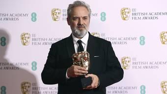 """Regisseur Sam Mendes bekam am Sonntagabend bei den britischen Filmpreisen für sein Werk """"1917"""" zahlreiche Auszeichnungen und darf nunmehr bei den Oscars hoffen."""
