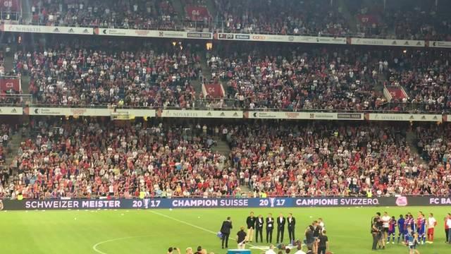 Die Abschiedsrede des abtretenden FCB-Präsidenten Bernhard Heusler