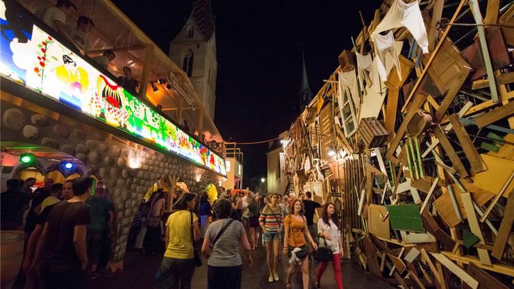 Die Badenfahrt mit ihren legendären Festbeizen lockt die Besuchermassen an. Das nächste Mal findet sie vom 18. bis 27. August 2017 statt.