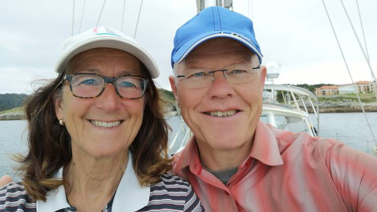 Pia Koch und Köbi Brem leben seit Ende Mai auf der Lupina. «Es ist genauso, wie wir uns das erhofft haben», sagt Brem.