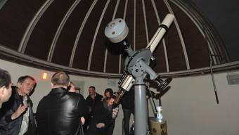 Lockte viele Besucher in die Sternwarte: Der Tag der Astronomie.