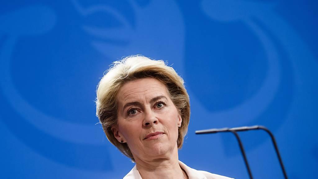 """Von der Leyen: """"Europa muss Sprache der Macht lernen"""""""