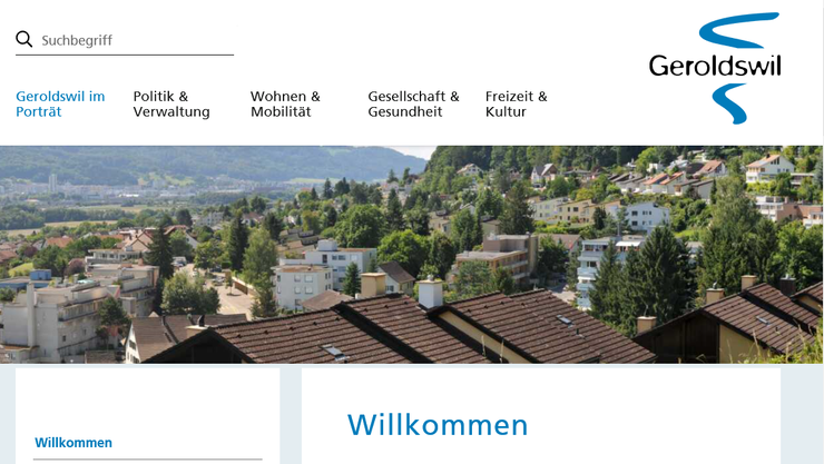 Ab dem 13. Januar können sich alle Nutzerinnen und Nutzer ein Bild vom neuen Online-Auftritt der Gemeinde Geroldswil machen.